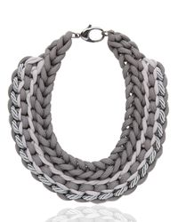 Alienina Gray Synthesis Collection Necklace