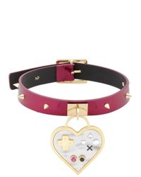Maria Francesca Pepe | Purple Video Games Chocker | Lyst