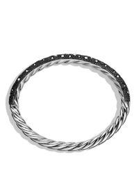 David Yurman Metallic Midnight Melange Bracelet With Diamonds