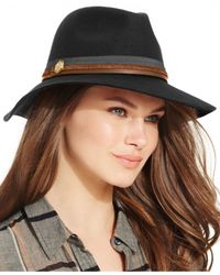 Vince Camuto | Black Multiple Band Panama Hat | Lyst