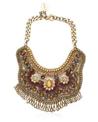 Sveva Collection - Purple Starlet Necklace - Lyst
