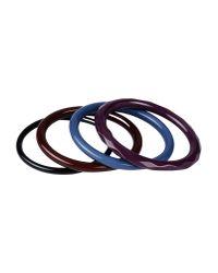 Tosca Blu - Purple Bracelet - Lyst