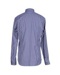 Moschino - Blue Shirt for Men - Lyst