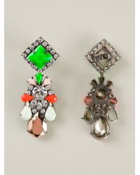 Shourouk | Multicolor 'boogie' Earrings | Lyst