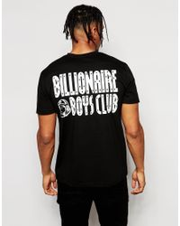 Billionaire Boys Club - Ice Cream - Black T-shirt With Back Print for Men - Lyst