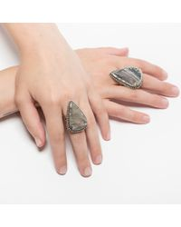 Pamela Love | Gray Jasper Ring - Size 5 | Lyst