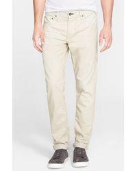 Rag & Bone - Gray Standard Issue Fit 2 Slim Fit Five-pocket Pants for Men - Lyst