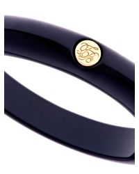 Ted Baker | Black Ryleey Resin Button Bangle | Lyst