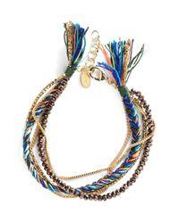 Shashi | Green 'maya' Bracelet | Lyst