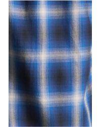 True Religion | Blue Single Pocket Woven Mens Shirt for Men | Lyst