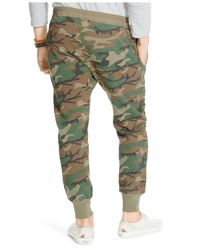 Denim & Supply Ralph Lauren Green Men's Chino Hiking Pants for men