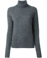 Marc By Marc Jacobs - Gray Soft Turtle Neck Sweater - Lyst