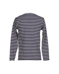 Armor Lux - Blue T-Shirt for Men - Lyst