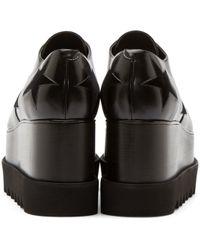 Stella McCartney | Black Platform Elyse Shoes | Lyst
