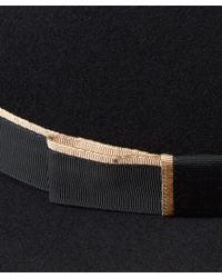 Lyst - Christys  Black Kimberley Floppy Brim Trilby Hat in Black d39c46f6e696