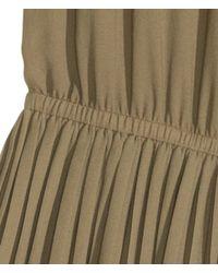H&M Green Chiffon Dress