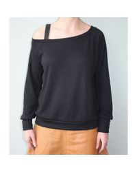 LNA | Black Barre Sweatshirt | Lyst