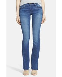 True Religion Blue 'becca' Twisted Seam Bootcut Jeans