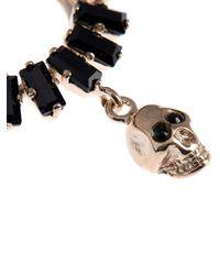 Givenchy - Black Crystal And Skull-Embellished Nose Ring - Lyst