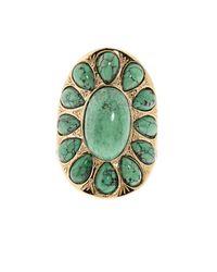 Aurelie Bidermann - Metallic Natural Stone Ring - Lyst