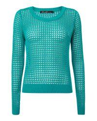 Blend She - Green Kirra Knit - Lyst