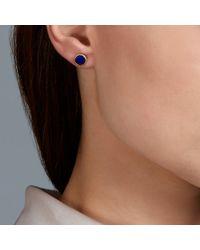 Pippa Small | Blue Lapis Lazuli Studs | Lyst