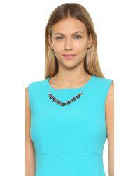DANNIJO - Blue Arabia Necklace - Lyst