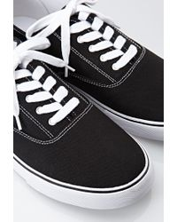 Forever 21 - Black Men Classic Canvas Sneakers for Men - Lyst