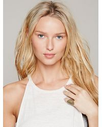 Free People Metallic Zoemou Womens Nyazik Ring