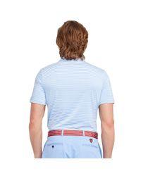 Ralph Lauren | Blue Lightweight Striped Polo Shirt for Men | Lyst