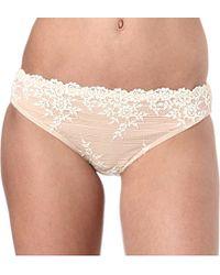Wacoal   Natural Embrace Lace Bikini Briefs - For Women   Lyst