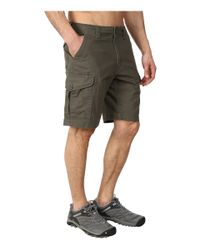 Patagonia Green Stand Up Cargo Shorts for men