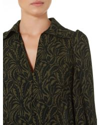 Biba | Natural Heritage Longline Printed Tunic Blouse | Lyst