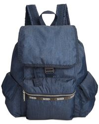 LeSportsac | Blue Modern Voyager Backpack | Lyst