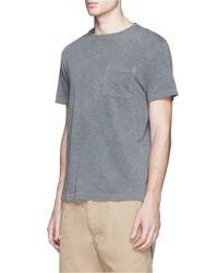 J.Crew Gray Garment-dyed T-shirt for men