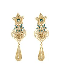 Isabel Marant | Metallic San Pedro Ornate Drop Earrings | Lyst