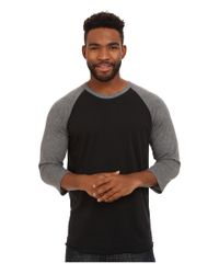 Hurley - Black Staple Dri-fit Raglan for Men - Lyst