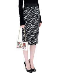 Dolce & Gabbana White Small Fabric Bag
