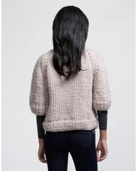 Wool And The Gang | Gray Ashleigh Sweater | Lyst