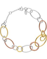 Links of London | Multicolor Aurora Mixed Metal Multi Link Bracelet | Lyst
