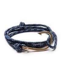 Miansai | Blue Men's Hook Rope Bracelet | Lyst