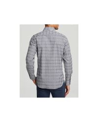 Robert Graham Black Queenstown Button Down Shirt - Classic Fit - Bloomingdale's Exclusive for men