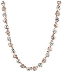 Givenchy Metallic Rose Gold Y-necklace