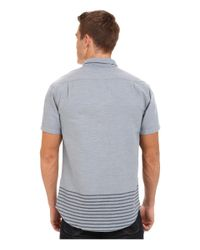 RVCA | Blue That'll Do Layers Short Sleeve for Men | Lyst