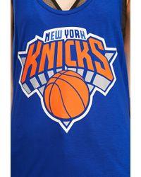 Forever 21 - Blue Ny Knicks Tank - Lyst