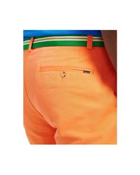 Polo Ralph Lauren | Orange Big And Tall Classic-fit Flat-front Chino Short for Men | Lyst