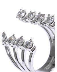Delfina Delettrez Metallic White Diamond and Gold Ring