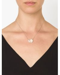 Kimberly Mcdonald - White Quartz And Diamond Necklace - Lyst
