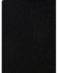 Thamanyah Black Cocoon Sweater for men
