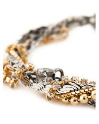 Puro Iosselliani | Metallic Tangled Bracelet | Lyst